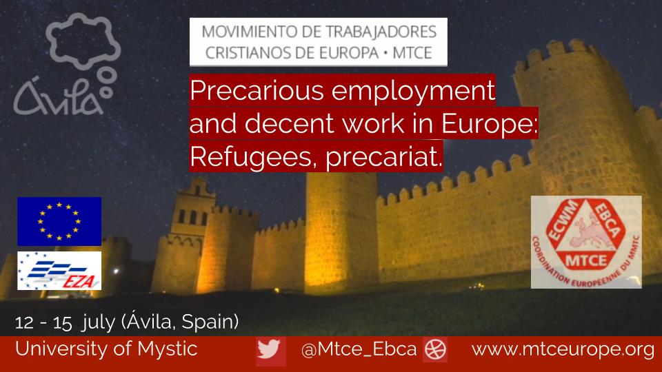 ECWM - European Christian Worker Movement - News from Europe